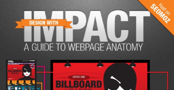 Design with Impact : A Guide to Webpage Anatomy - Nerdgraph Infographics