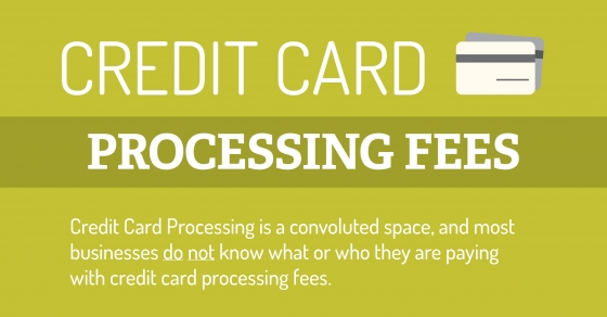 How credit card processing fees work nerdgraph infographics reheart Images